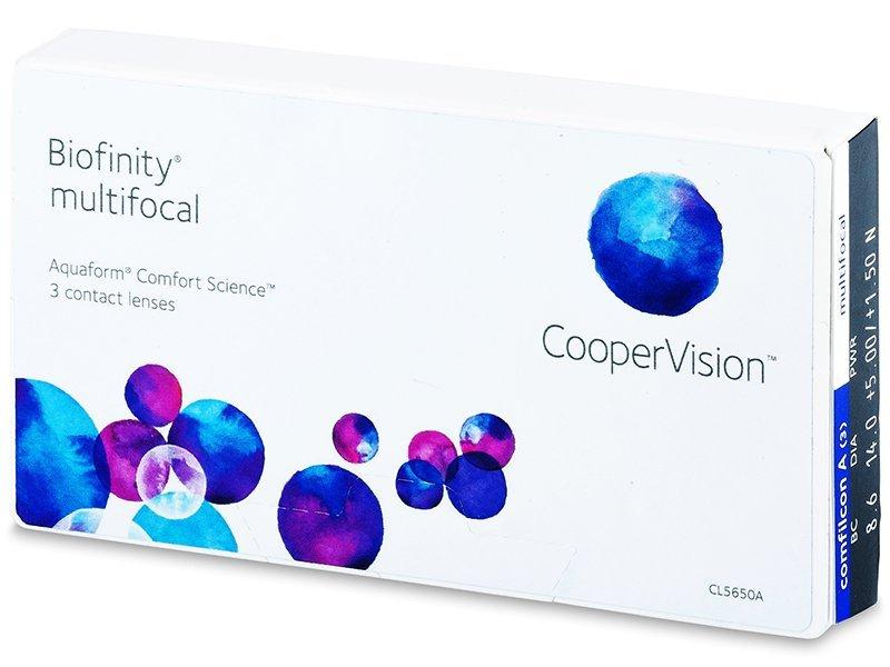 Biofinity Multifocal (3lentilles)