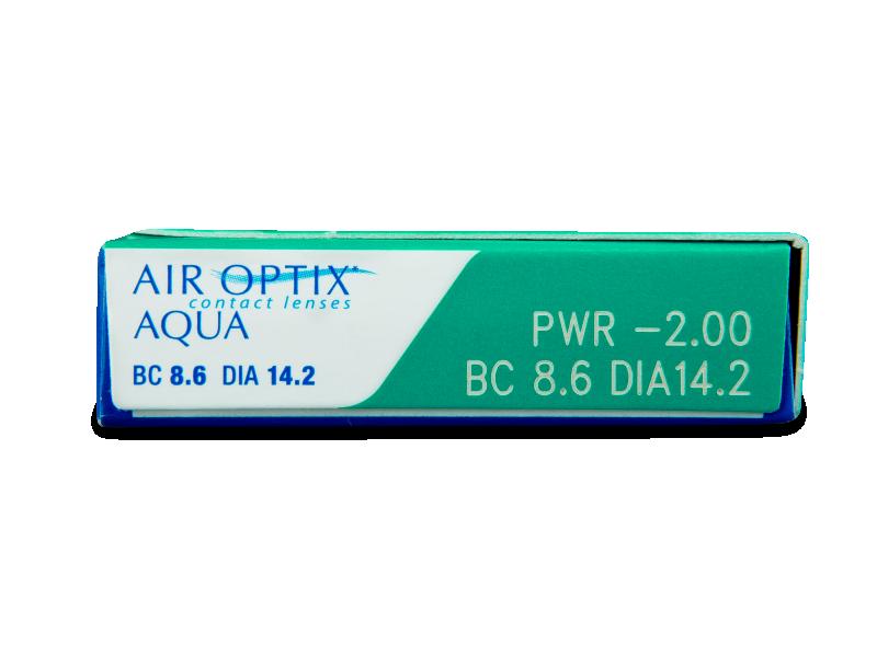 Air Optix Aqua (3lentilles)