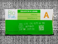 Biotrue ONEday for Astigmatism (30 lentilles)