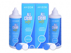 Solution Avizor All Clean Soft 2 x 350 ml