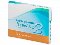 PureVision 2 for Astigmatism (3 lentilles)