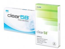 Clear 58 (6lentilles)