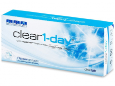 Clear 1-Day (30lentilles)