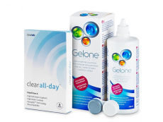 Clear All-Day (6lentilles) +Gelone360ml