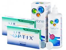 Air Optix for Astigmatism (2x3 lentilles) +Gelone360ml