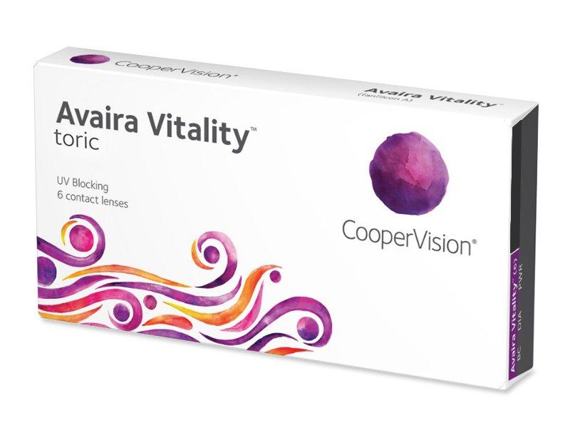 Avaira Vitality Toric (6 lentilles)
