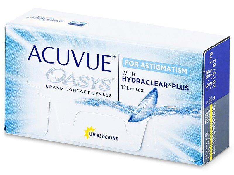 Acuvue Oasys for Astigmatism (12 lentilles)