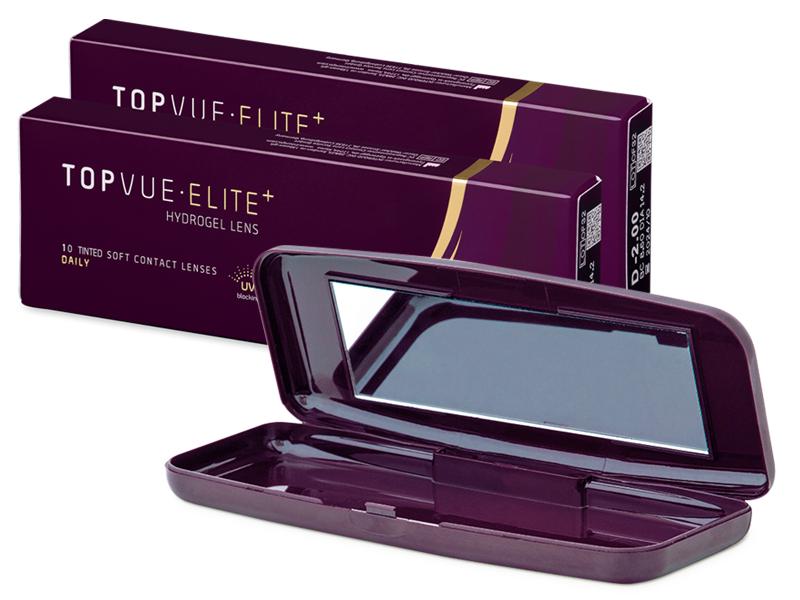 TopVue Elite+ (10 paires) + Étui TopVue Elite