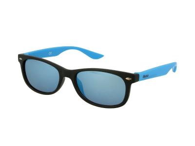 Lunettes de soleil Alensa Enfant Sport Miroir Noir et Bleu