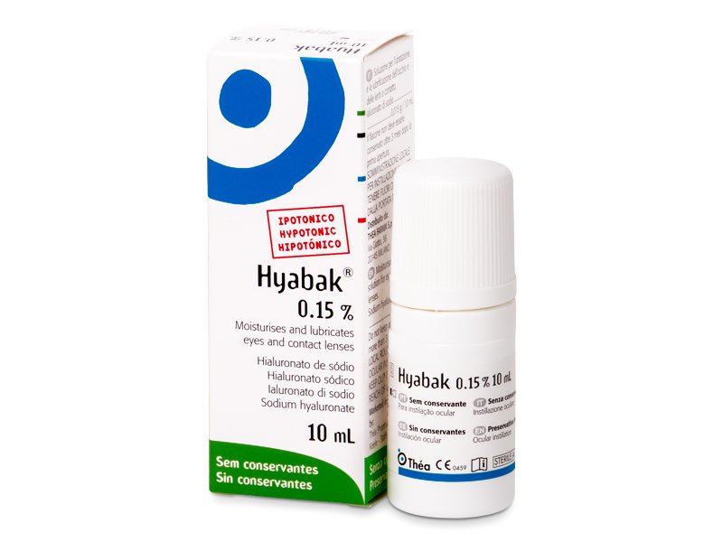 Hyabak Gouttes Oculaires 10 ml