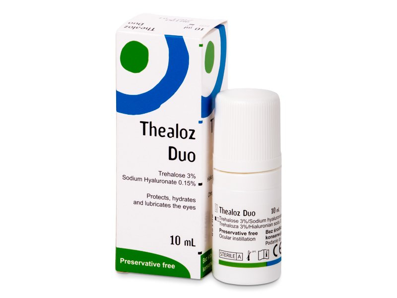 Thealoz Duo Gouttes Oculaires 10 ml