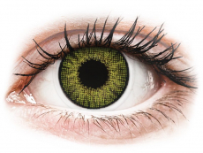 Lentilles de contact effet naturel Vert Gemstone Green- correctrices - Air Optix (2 lentilles)
