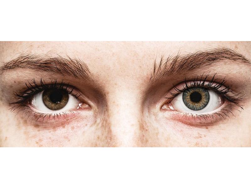 Lentilles de contact effet naturel Gris - Air Optix (2lentilles)