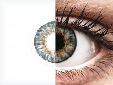 Lentilles de contact effet naturel Gris - correctrices - Air Optix (2lentilles)