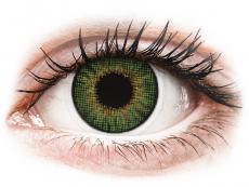 Lentilles de contact effet naturel Vert- correctrices - Air Optix (2lentilles)