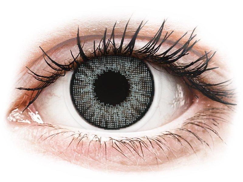 Lentilles de contact effet naturel Gris Sterling Gray - correctrices - Air Optix (2lentilles)