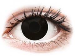 Lentilles de contact Noir BlackOut - ColourVue Crazy (2 lentilles)
