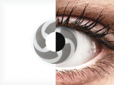 Lentilles de contact Gris Blade - ColourVue Crazy (2 lentilles)