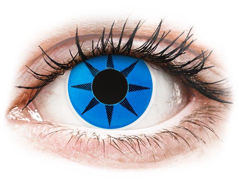 Lentilles de contact Bleu Blue Star - ColourVue Crazy (2 lentilles)