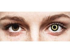 Lentilles de contact Noir Eclipse - ColourVue Crazy (2 lentilles)