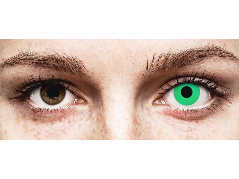 Lentilles de contact Vert Emerald - ColourVue Crazy (2 lentilles)
