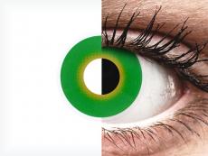Lentilles de contact Vert Hulk Green - ColourVue Crazy (2 lentilles)