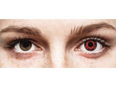 Lentilles de contact Rouge Madara - ColourVue Crazy (2 lentilles)