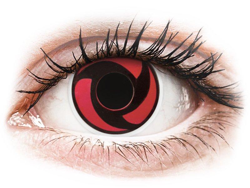 Lentilles de contact Rouge Mangekyu - ColourVue Crazy (2 lentilles)