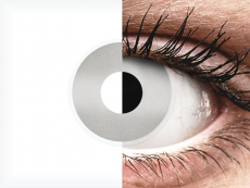 Lentilles de contact Gris Mirror - ColourVue Crazy (2 lentilles)
