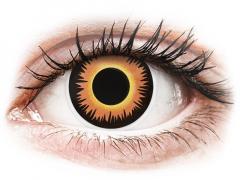 Lentilles de contact Orange Werewolf - ColourVue Crazy (2 lentilles)