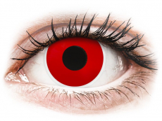 Lentilles de contact Rouge Red Devil - ColourVue Crazy (2 lentilles)