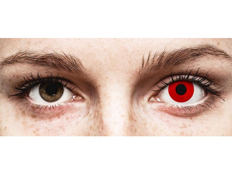 Lentilles de contact Rouge Red Devil - ColourVue Crazy (2 lentilles)
