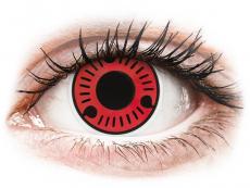 Lentilles de contact Rouge Sasuke - ColourVue Crazy (2 lentilles)