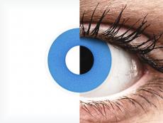 Lentilles de contact Bleu Sky Blue - ColourVue Crazy (2 lentilles)