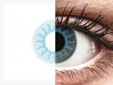 Lentilles de contact Bleu Solar Blue - ColourVue Crazy (2 lentilles)
