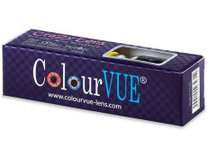 Lentilles de contact Blanc WhiteOut - ColourVue Crazy (2 lentilles)