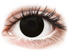 Lentilles de contact Noir BlackOut - ColourVue Crazy - correctrices (2 lentilles)