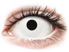 Lentilles de contact Blanc WhiteOut - ColourVue Crazy - correctrices (2 lentilles)