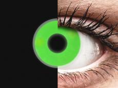 Lentilles de contact Vert Glow - ColourVue Crazy (2lentilles)