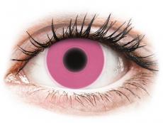 Lentilles de contact Rose Glow - ColourVue Crazy (2lentilles)