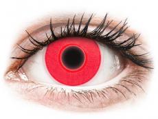 Lentilles de contact Rouge Glow - ColourVue Crazy (2lentilles)