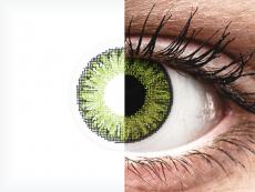 Lentilles de contact Vert Fresh Green - correctrices - TopVue Color (10lentilles journalières)