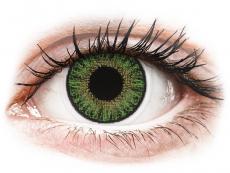 Lentilles de contact Vert - correctrices - TopVue Color (10lentilles journalières)
