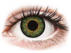 Lentilles de contact Vert - ColourVUE Glamour - correctrices (2lentilles)