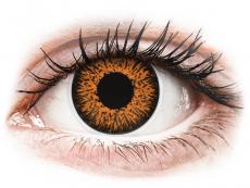 Lentilles de contact Orange Honey - ColourVUE Glamour (2lentilles)