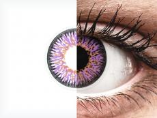 Lentilles de contact Violet - ColourVUE Glamour (2lentilles)