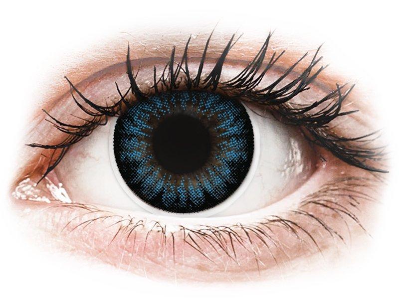Lentilles de contact Bleu Cool Blue - ColourVUE BigEyes (2lentilles)