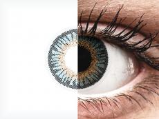 Lentilles de contact Bleu - ColourVUE 3 Tones - correctrices (2lentilles)