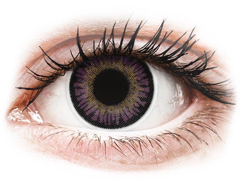 Lentilles de contact Violet - ColourVUE 3 Tones (2lentilles)