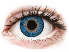 Lentilles de contact Bleu Foncé Expressions Colors - correctrices (1 lentille)